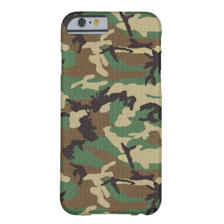 Woodland Army Camo iPhone 6 Barely There Case