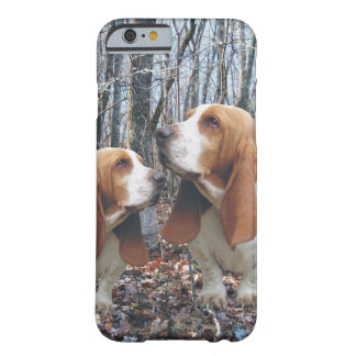 Woodland Basset Hound Barely There iPhone 6 Case