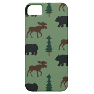 Woodland Bear Moose iPhone 5 Casemate Case