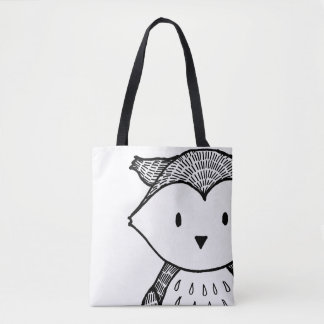 Woodland Black Owl Women's stylish Bag