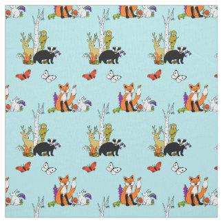 Woodland Bright Fabric