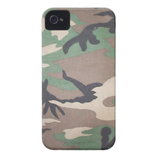 Woodland Camo Blackberry Bold Case