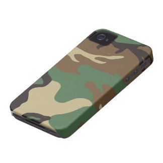 Woodland Camo Camouflage iPhone 4 Case
