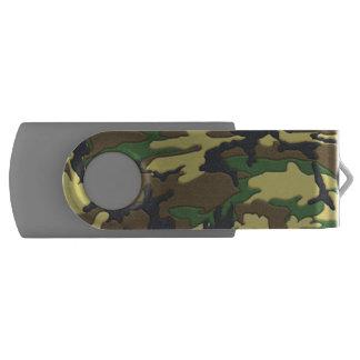 Woodland Camo Camouflage USB Flash Drive