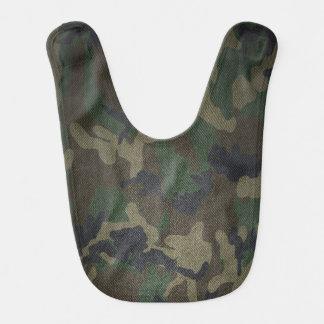 Woodland Camo Fabric Bib