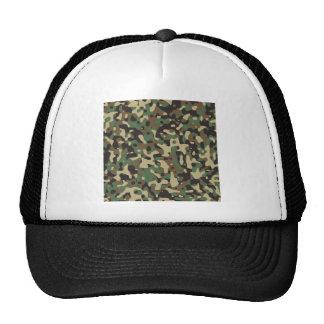 Woodland Camo Mesh Hat