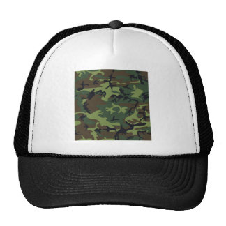 Woodland Camo Trucker Hat