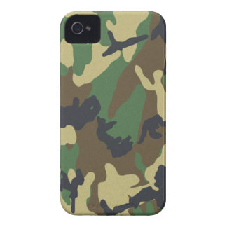 Woodland Camo iPhone 4 Barely There Universal Case