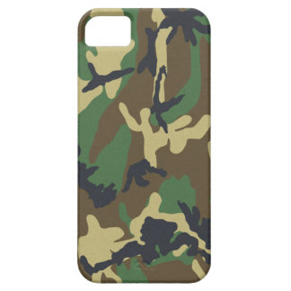 Woodland Camo iPhone 5 Barely There Universal Case