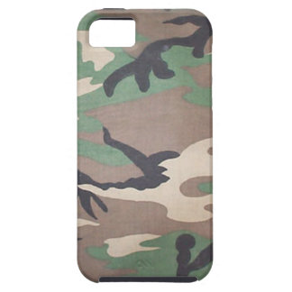 Woodland Camo iPhone 5 Case