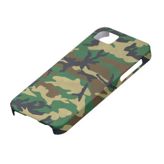 Woodland Camo iPhone 5 Cases