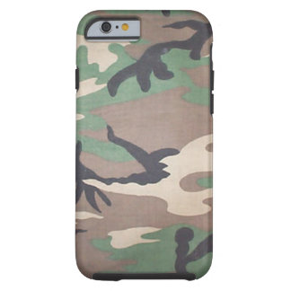 Woodland Camo iPhone 6 case