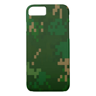 Woodland Camo iPhone 8/7 Case