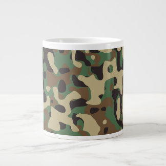 Woodland Camo Large Coffee Mug