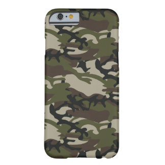 Woodland Camo Military Barely There iPhone 6 Case