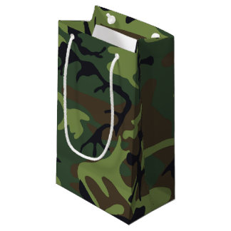 Woodland Camo Small Gift Bag