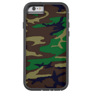Woodland Camo Tough Xtreme 6/6s Case