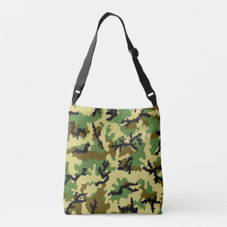 Woodland camouflage crossbody bag