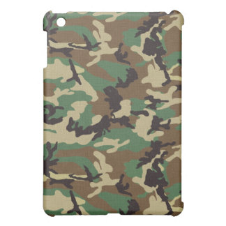 Woodland Camouflage iPad Mini Case