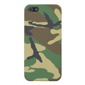 Woodland Camouflage iPhone4 Case 2 iPhone 5 Case