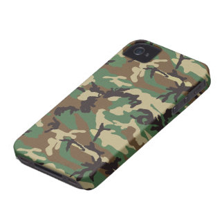 Woodland Camouflage iPhone 4 Case