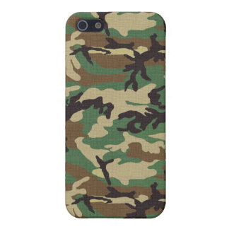 Woodland Camouflage iPhone 5C Case