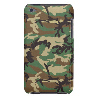 Woodland Camouflage iPod Touch Case