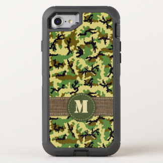 Woodland camouflage OtterBox defender iPhone 7 case