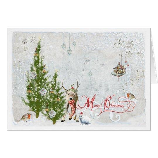 Woodland Christmas Card
