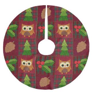 Woodland Christmas Tree Skirt