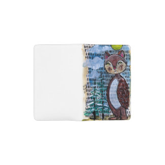 Woodland Creature Pocket Moleskine Notebook