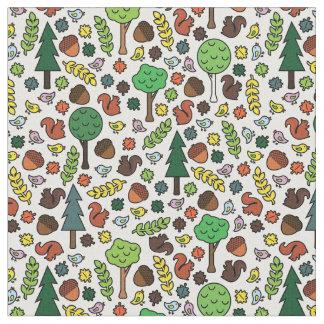 Woodland Creatures Fabric