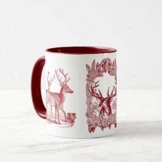 Woodland Deer Combo Mug