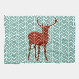 Woodland Deer Kitchen Towel