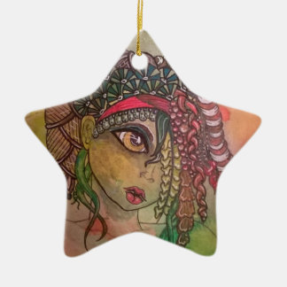 Woodland Fae 2 Ceramic Ornament
