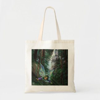 Woodland Fairies and Waterfall Castle Tote Bag