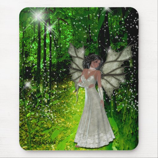 Woodland Fairy Mouse Pad