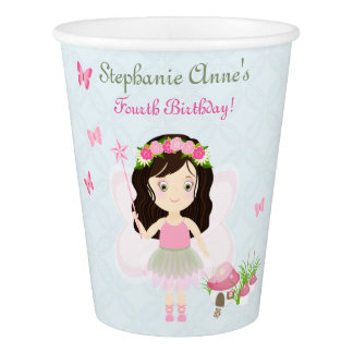Woodland Fairy Princess Paper Cup