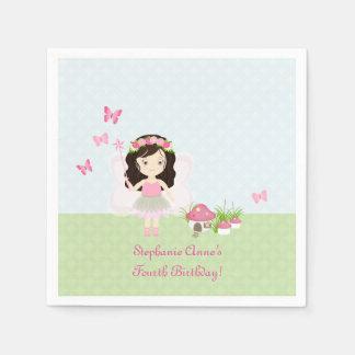Woodland Fairy Princess Paper Napkins