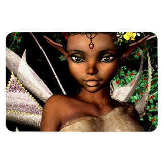 Woodland Fairy Rectangular Photo Magnet