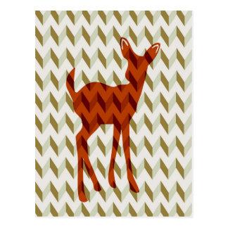 Woodland Fawn Postcard