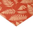 Woodland Fern Pattern, Mandarin Orange Tissue Paper