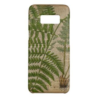 woodland foliage french botanical print fern Case-Mate samsung galaxy s8 case