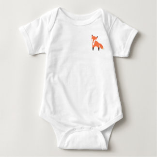 Woodland Fox  Baby Bodysuit