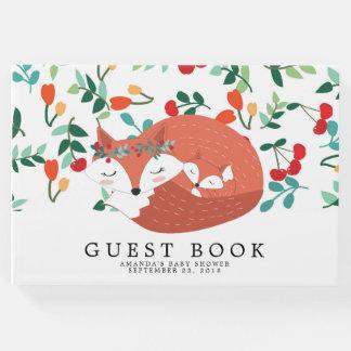 Woodland Fox Baby Shower Guest Book