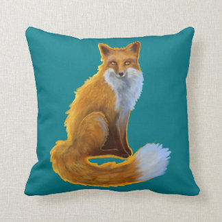 Woodland Fox Cushion