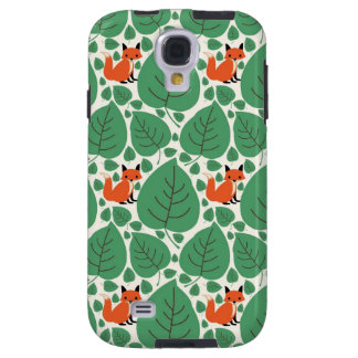 Woodland fox cute whimsical hipster foxes retro