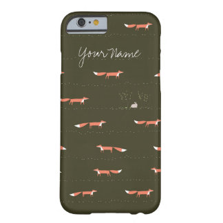 Woodland Foxes iPhone Case