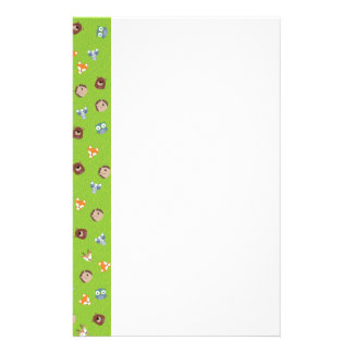 Woodland Friends - Fox Bear Raccoon Hedgehog Deer Stationery