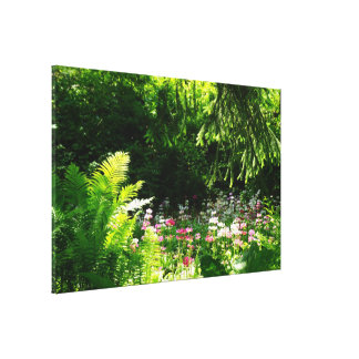 Woodland Garden Premium Wrapped Canvas